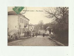 40 - MONTAUT - Place Domanec Animée Bon état - Altri Comuni