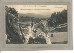 CPA - (25) La CLUSE - Aspect De La Gare Et De La Barrière, Vue Prise Du Larmont, En 1911(25) La CLUSE - Aspect De La Gar - Andere Gemeenten