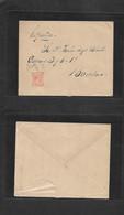 Puerto Rico. 1894 (3 Nov) San Juan - Barcelona, Peninsula. Sobre Circulada Con Sellos 6c Naranja Emision Pelon Mat Fecha - Porto Rico