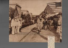 Puerto Rico. C. 1920s. US Secretary Interior Visit To Puerto Rico. Harold Hyckes + Governor Blanton H. Winship. Historic - Porto Rico