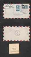 Puerto Rico. 1936 (4 Apr) San Juan - USA, Kentucky, Louisville (8 Apr) Carta Franqueo Multiple Via Aerea, Con Marca Auxi - Porto Rico