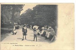 CPA  PARIS  VECU  Enfants Au Jardin  N° 60 - Non Classificati