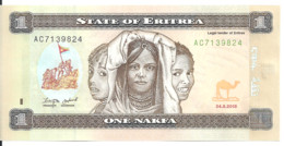 ERYTHREE 1 NAFKA 2015 UNC P 13 - Eritrea