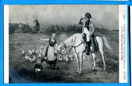 HB273, Cheval Blanc, Oie, Goose, Gans, Moulin, Mühle, Mill, Pferd, Horse,4613, Salon Des Artistes, Circulée 1910 - Sammlerbörsen & Sammlerausstellungen