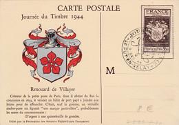 CARTE MAXIMUM 1944 LE PUY EN VELAY HAUTE LOIRE - 1940-49
