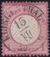 Deutsches Reich   .   Michiel  .     4    .     O     .  Gebraucht    .    /   .   Cancelled - Gebraucht