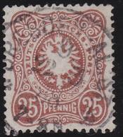 Deutsches Reich   .   Michiel  .     43    .     O     .  Gebraucht    .    /   .   Cancelled - Gebraucht