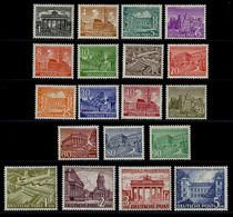 Berlin, Michel Nr. 42-60 Postfrisch, Geprüft Schlegel BPP - Unused Stamps