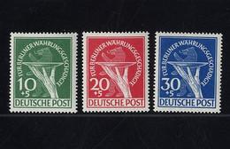 Berlin, Michel Nr. 68-70 Postfrisch - Währungsgeschädigte - Unused Stamps