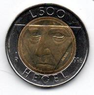 San Marin - 500 Lires 1996 R -  SPL - San Marino