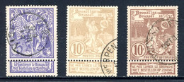 BE   71 - 73  Obl  ----  Bel état. - 1894-1896 Exhibitions