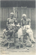 Cpa Dahomey -  Vieux Chefs Dahoméens - Dahomey