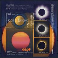 Solar Eclipse - Bulgaria / Bulgarie 2020 -  Block MNH** - Europe