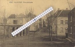 """LILLO-ANTWERPEN """"RUE PRINCIPALE-HOOFDSTRAAT-STRAATZICHT""""HOELEN 8297 UITGIFTE 10.09.1920 TYPE:6 - Antwerpen"""