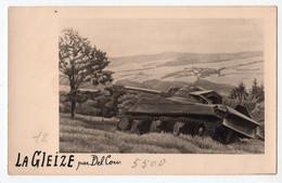 28 - LA GLEIZE - Tableau Peint Par DEL COUR De Spa - *militaria - Char* - Stoumont