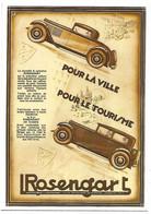 CPM - CENTENAIRE Editions - L.ROSENGART - 15 - POUR LA VILLE - POUR LE TOURISME - Zonder Classificatie