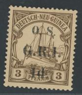 Deutsche Kolonien Deutsch Neuguinea - Britische Besetzung D1 Postfrisch - Colonia: Nuova Guinea