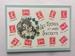 PAP Carte Pré-timbrée à Validité Permanente 2020 Le Langage Des Timbres - Les Timbres Et Leurs Secrets - Listos A Ser Enviados: Otros (1995-...)