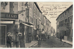 CPA  ECULLY  La Grande Rue - Altri Comuni