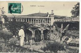 CPA  FLEURIE   Les Grottes - Altri Comuni