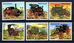 Paraguay: Histor. (Uralt-)Automobile1983; Postfrisch/MNH - Automobili