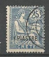 CRETE N° 16 OBL - Oblitérés