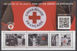 F 5350 Y.T. Neuf ** Feuillet Croix-rouge 'Une Chaîne De Solidarité Pour Lutter Contre Les Précarités 2019 - Mint/Hinged