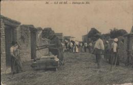 Ile De Ré Battage Du Blé - Sonstige Gemeinden