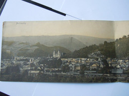 Malmedy Carte Panoramique Delpütz 5275 Form. 54 X 14 Cm Plié En 2 - Malmedy