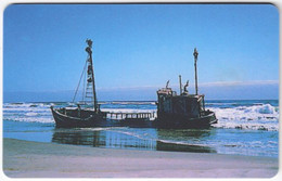 NAMIBIA A-205 Chip Telecom - Landscape, Coast, Wreck - Used - Namibia