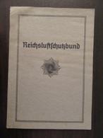 Allemagne - Carte De Membre / Mitgliedsausweis - Reichsluftschutzbund - Sulzbachtal - 1936 - Documents