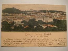 Lwow.Lemberg.Overview.Franz Josef Hugel.Rommler & Jonas,6875gina,coloured.1902.Poland.Ukraine - Ukraine