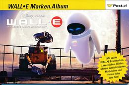 Autriche – Carnet Disney – Pixar – Wall°E - 6 Timbres Et 2 Cartes Vues - Disney