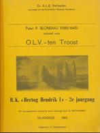 .L.V. Ten Troost – Pater P. Blondiau - 99blz. A4 - Geschichte