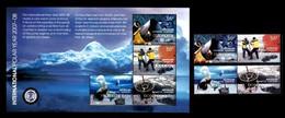 (001+04) Australian Antarctics / AAT   Polar Research / Forschung / 2008   ** / Mnh  Michel 173-76 + BL 2 - Zonder Classificatie
