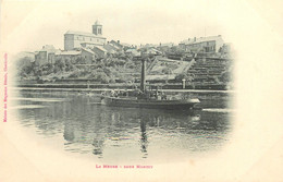 148 - Charleville-Mézières - Montcy - Canal - Péniches - Charleville