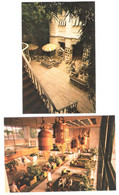 Thailand - 2 Cards - Bangkok - Oriental Hotel - Lobby - Author`s Lounge - Tailandia