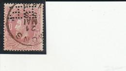 34  PERFORE B E----------------873 - 1869-1883 Leopold II