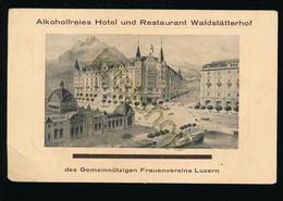 Luzern - Alkoholfreies Hotel Waldstätterhof Und … [Z30-0.063 - Zonder Classificatie