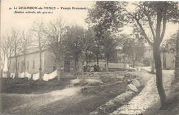 CPA Le Chambon-de-Tence Temple Protestant - Otros Municipios