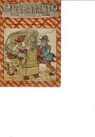 Journal L'épatant Humoristique N°689   De  1921 Les Pieds Nikeles - 1900 - 1949