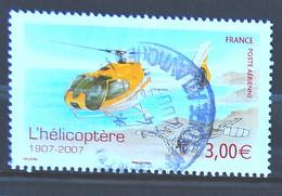 FRANCE 2007 - PA N° 70 Hélicoptère EC 130 - Cachet à Date - 1960-.... Matasellados