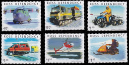 (038) Ross 2000 / Trasnport / Fahrzeuge  ** / Mnh  Michel 66-71 - Sin Clasificación