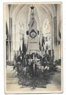 SAINT JUST SAUVAGE (51) Carte Photo Commémoration Guerre 1914-18 Dans L'église - Otros Municipios