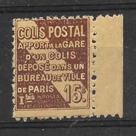 Colis Postal N° 95 Jaune Vif Type III ** TTBE - Bdf - Cote Y&T 2020 De 15 € - Ungebraucht