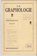 Revue LA GRAPHOLOGIE N° 76 - 4ème Trimestre 1959 - Ciencia