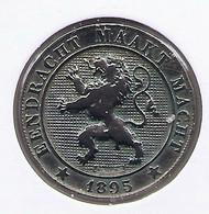 LEOPOLD II  * 5 Cent 1895 Vlaams * Z.Fraai * Nr 10116 - 03. 5 Centimes
