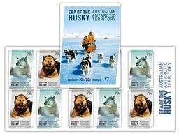 AUSTRALIAN ANTARCTIC TERRITORY (AAT) • 2014 • Era Of The Husky - Booklet • MNH (10 Stamps) - Unused Stamps