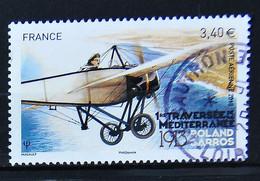 FRANCE 2014 - PA N° 77 Traversée De La Méditerranée Par Rolland Garros - Cachet à Date - 1960-.... Matasellados