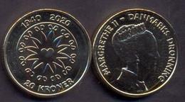 Denmark 20 Kroner 2020 UNC < 1940-2020 > - Dinamarca